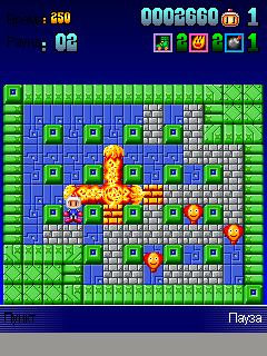 Download free mobile game: Bomberman Deluxe - download free games for mobile phone.