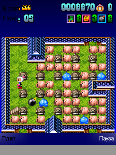 Download free game for mobile phone: Bomberman Deluxe - download mobile games for free.
