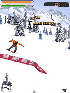 Download free game for mobile phone: Shaun White Snowboarding - download mobile games for free.