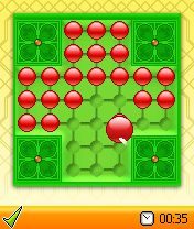 Mobile game Peg Solitaire Deluxe - screenshots. Gameplay Peg Solitaire Deluxe.