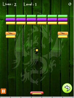 Mobile game Ninja Brick - screenshots. Gameplay Ninja Brick.