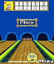 Mobile game Sponge Bob Squarepants Bowling - screenshots. Gameplay Sponge Bob Squarepants Bowling.