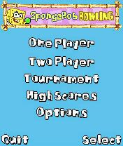 Download free mobile game: Sponge Bob Squarepants Bowling - download free games for mobile phone.