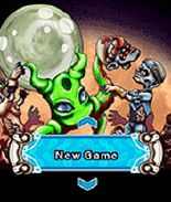 Download free mobile game: Zombies in Space - download free games for mobile phone.