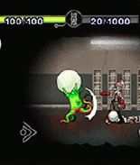 Mobile game Zombies in Space - screenshots. Gameplay Zombies in Space.