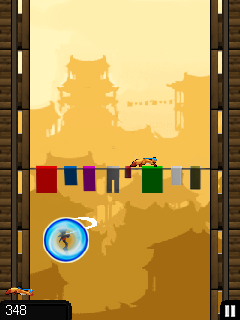 Mobile game Ninja Jumping - screenshots. Gameplay Ninja Jumping.
