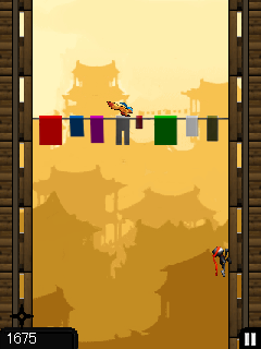 Download free mobile game: Ninja Jumping - download free games for mobile phone.