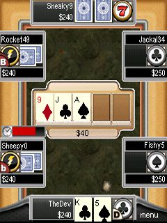 Download free game for mobile phone: Hellmuth's: High-Stakes Hold'Em - download mobile games for free.