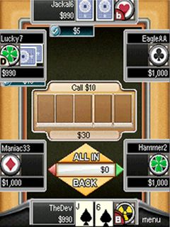 Jeu mobile Hellmuth: le Hold'em - captures d'écran. Gameplay Hellmuth's: High-Stakes Hold'Em.