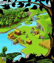 Mobile game Townsmen - screenshots. Gameplay Townsmen.