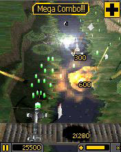 Скриншот java игры 3D Heli Strike: Advanced Air Combat. Игровой процесс.