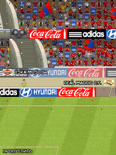 Mobile game Pro Evolution Soccer 2011 UNCAF + EURO 2012 - screenshots. Gameplay Pro Evolution Soccer 2011 UNCAF + EURO 2012.