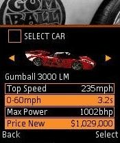 Jeu mobile Le Rally Gumball 3000 3D - captures d'écran. Gameplay Gumball 3000 Rally 3D.