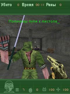 Скриншот java игры Counter-Strike 2010 Mod. Игровой процесс.