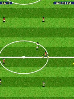 Jeu mobile Panini: le Foot Dynamique - captures d'écran. Gameplay Panini Dynamic Soccer.