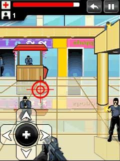Jeu mobile Le Combat Urbain - captures d'écran. Gameplay Urban combat.