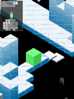 Jeu mobile Le Cube: la Face de Neige MOD - captures d'écran. Gameplay Edge Snow MOD.