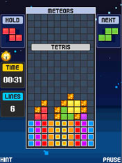 Mobile game Tetris POP - screenshots. Gameplay Tetris POP.