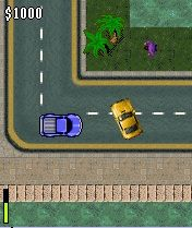 Mobil-Spiel Großer Autodiebstahl: Mobilversion Modifikation - Screenshots. Spielszene GTA mobile mod.