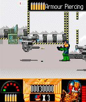 Download free game for mobile phone: Judge Dredd - download mobile games for free.
