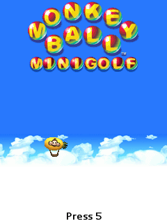 Monkey Ball Minigolf