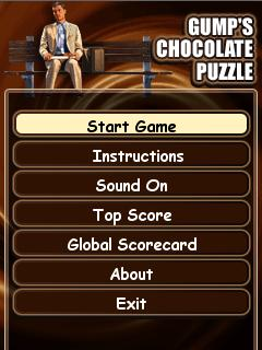 Download free mobile game: Gumps Chocolate Puzzle - download free games for mobile phone.