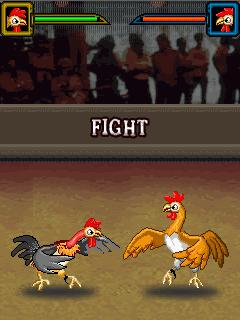Jeu mobile Les Combatants de Batailles de Coqs - captures d'écran. Gameplay Cock Fighting Warriors.
