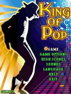 Download free mobile game: King of Pop-Michael Jackson - download free games for mobile phone.