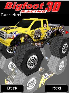 Download free mobile game: Bigfoot Racing 3D - download free games for mobile phone.