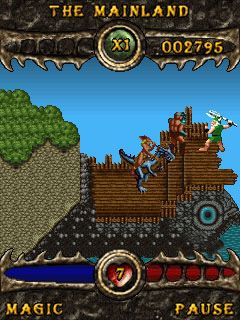 Download free game for mobile phone: Golden Axe - download mobile games for free.