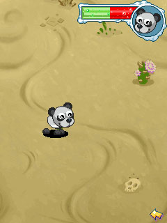 Mobile game Goosy Pets: Panda - screenshots. Gameplay Goosy Pets: Panda.