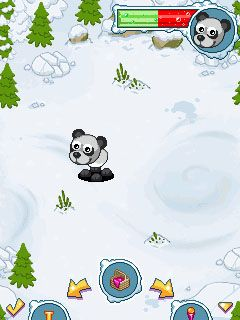 Download free game for mobile phone: Goosy Pets: Panda - download mobile games for free.