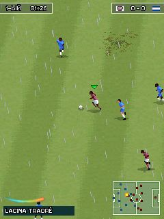 Mobile game Pro Evolution Soccer 2011 RFPL - screenshots. Gameplay Pro Evolution Soccer 2011 RFPL.