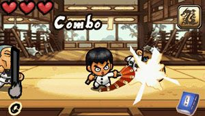 Jeu mobile Le Garçon Kung-FU - captures d'écran. Gameplay Kung Fu Boy.