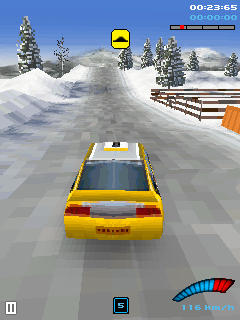 Mobile game Russia Grand Prix 2008 Rally 3D - screenshots. Gameplay Russia Grand Prix 2008 Rally 3D.