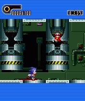 Jeu mobile Sonic le Hérisson: Partie 2 - captures d'écran. Gameplay Sonic the Hedgehog: Part 2.