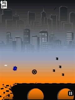 Download free mobile game: Blue Runner - download free games for mobile phone.