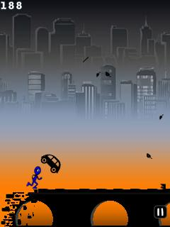 Download free game for mobile phone: Blue Runner - download mobile games for free.