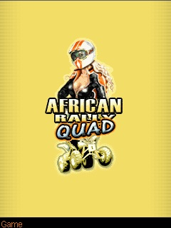 Download free African Rally Quad - java game for mobile phone. Download African Rally Quad