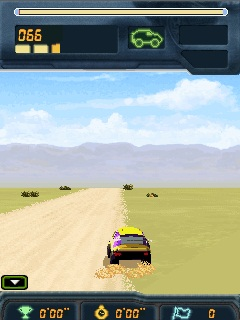 Jeu mobile Le Rally de Dakar 2008 - captures d'écran. Gameplay Dakar Rally 2008.