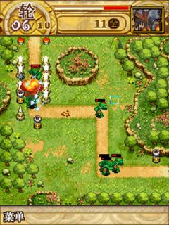 Mobile game WarCraft 3: Tower defence - screenshots. Gameplay WarCraft 3: Tower defence.