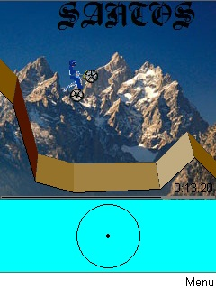 Download free game for mobile phone: Gravity in Alps - download mobile games for free.