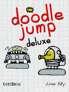 Download free Doodle Jump Deluxe - java game for mobile phone. Download Doodle Jump Deluxe