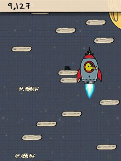 Download free mobile game: Doodle Jump Deluxe - download free games for mobile phone.
