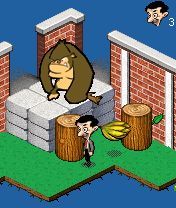 Download free mobile game: Mr. Bean In The Zoo - download free games for mobile phone.