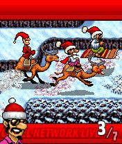 Mobile game Turbo Camels Xmas Special - screenshots. Gameplay Turbo Camels Xmas Special.