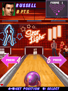 Download free game for mobile phone: Midnight Bowling - download mobile games for free.