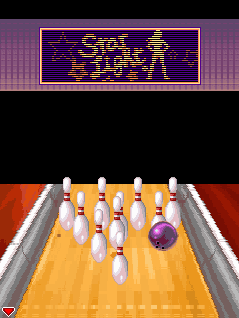 Mobile game Midnight Bowling - screenshots. Gameplay Midnight Bowling.
