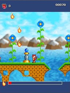 Jeu mobile Le Super Sonic - captures d'écran. Gameplay SuperSonix.