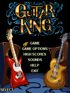 Download free mobile game: Guitar king - download free games for mobile phone.